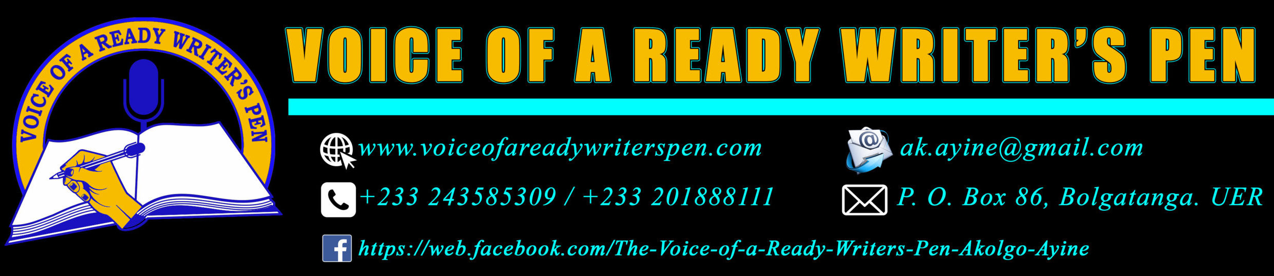 Voice of a Ready Writer's Pen